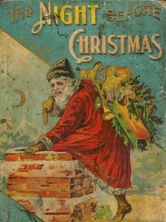 'Twas the Night Before Christmas-A Vintage Ambiance rendition Old Time Christmas, Christmas Fairy, Old Fashioned Christmas, The Night Before Christmas, Christmas Past, Winter Christmas, Christmas Mantles, Christmas Christmas, Christmas Ornaments