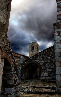 The Monastery of Hosios Loukas, one of the finest, 11th century Byzantine monuments in Greece, is set on a picturesque slope on the western foothills of Mount Helikon, near the ancient town of Steiri. *
