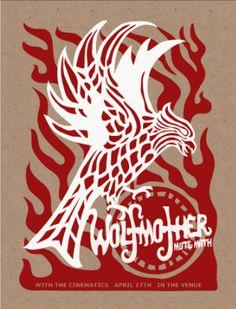 Wolfmother - Furturtle Printworks