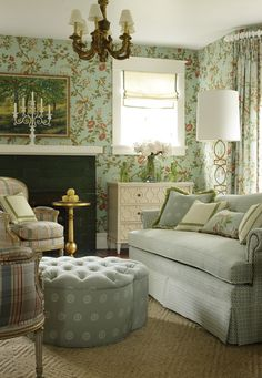 Newman wallpaper and fabric from #Gatehouse #Thibaut