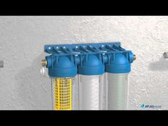 REGENWASSERFILTER: ATLAS FILTRIs HYDRA RAINMASTER - YouTube Off Grid Solar Panels, Recycling, Water Bottle, Villas, Youtube, Save Water, Water Filter, Cleaning, Lawn And Garden