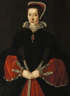 Lady Elizabeth Pope, née Blount (c.1515–1593) by British (English) School