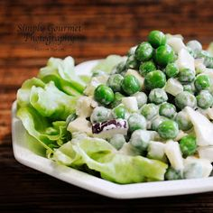 Where food, family and friends gather, Simply Gourmet: 38. Green Pea Salad