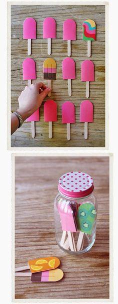 Make matching fun with popsicle sticks. Make matching fun with popsicle sticks. The post Make matching fun with popsicle sticks. appeared first on Pink Unicorn. Kids Crafts, Diy And Crafts, Craft Projects, Paper Crafts, Papier Diy, Popsicle Sticks, Craft Sticks, Popsicle Molds, Stick Crafts