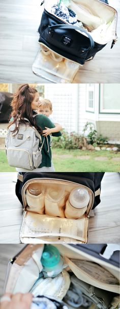 Choosing a diaper bag backpack no longer means you have to compromise style or functionality. Free your hands so you can focus on the important things, like running after your free spirited toddler or Baby Diaper Bags, Diaper Bag Backpack, Diaper Bag Tutorials, Baby Diary, Diaper Bag Essentials, Backpack Reviews, Baby Hacks, Baby Tips, Sewing Projects