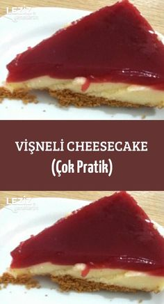 Cherry Cheesecake (Very Practical) – My Delicious Food - Rezepte Cheesecake, Cafe Pasta, Pasta Cup, Mousse Au Chocolat Torte, Fudge, Protein Breakfast, No Calorie Foods, Chocolate, Healthy Snacks