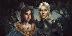 Decided to redo of an older painting I did of Rhaegar and Lyanna from A Song of Ice and Fire series! Here's the fun before and after: I started the whole painting in greyscale and tried to le...