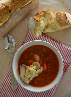 Εύκολη σούπα Μινεστρόνε