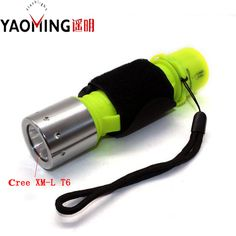 Underwater Flashlight Led Linternas Lantern Cree XM-L T6 3800LM 3 Modes Lamp Scuba Diving Flashlight Light Spear Fish Equipment