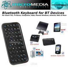 Wireless Bluetooth KeyBoard #MicroMediaAXS
