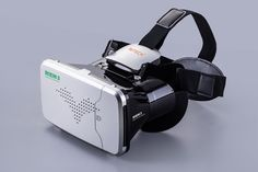Qwinout RITECH RIEM3 VR 3D Virtual Reality Glasses Helmet Private Theater Cinema Head Mount for Smartphones - Silver Grey Color. Phone System:Android/IOS. Network processing: Wifi + Bluetooth 4.0. Focal distance adjustment. Designed for screen size from 4.0 to 6.0 inches (maximum 160 x 90mm cellphone). High-definition optical lens, perfect for video, movies, games, etc.
