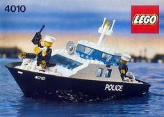 Lego - Police Rescue Boat