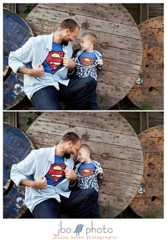 photography-cute-poses-and-ideas Family Posing, Family Portraits, Family Photos, Superhero Family Pictures, So Cute Baby, Cute Kids, Children Photography, Family Photography, Father Son Photography