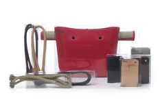 The new O bag from full spot with interchangeable handles. Leather Handle, Leather Bag, City Bag, Bago, Yorkie, Fashion Bags, Purses And Bags, Beach Mat, Shopping Bag