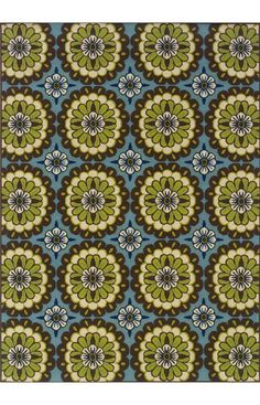 $209, Oriental Weavers Sphinx Caspian Outdoor 8328 Blue Rug