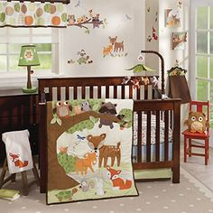 Woodland Tales 4 Piece Baby Crib Bedding Set by Lambs & Ivy Lambs & Ivy http://smile.amazon.com/dp/B00SZIBHTM/ref=cm_sw_r_pi_dp_M8OOvb1ZV7SVY