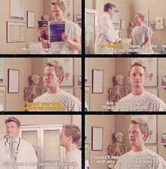 [GIFS] Neil Patrick Harrris & Nathan Fillion in Doctor's Office (THIS IS AMAZING) I see what they did there ^ click to see it, it's amazing XD