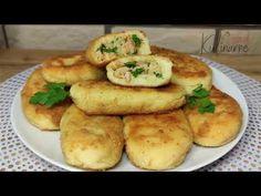 Kotlety ziemniaczane z kurczakiem - Coś pysznego 👍 - YouTube Dumplings, Baked Potato, Potatoes, Cooking Recipes, Meals, Baking, Ethnic Recipes, Food, Youtube