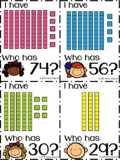 Place value first grade tens and ones this is an informational i have who has place value blocks fandeluxe Choice Image