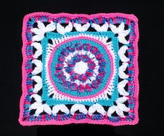 """Ravelry: LisaSh's Crown Jewels - 12"""" square"""