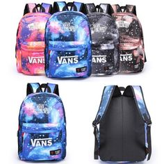 Girls boys galaxy #canvas leisure rucksack #backpacks travel #school shoulder bag,  View more on the LINK: http://www.zeppy.io/product/gb/2/271982045854/
