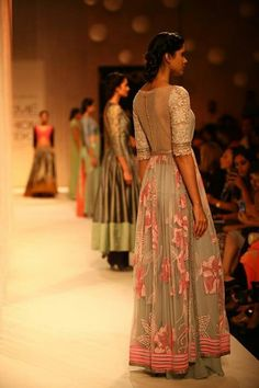 Manish Malhotra. Love this. Buttons at the back.