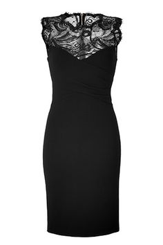 Black Lace Dress by EMILIO PUCCI |
