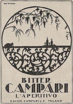 Bitter Campari by VINTAGE AD, via Flickr