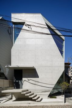 ARCHITAGS Japanese Architecture, Less Is More, Stairways, Futuristic, Skyscraper, Minimalism, Concrete, Multi Story Building, Survival