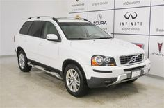 2010 Volvo Xc90 3-2 3.2 SUV 4 Doors Ice White for sale in North olmsted, OH http://www.usedcarsgroup.com/northolmsted-oh/2010-volvo-xc90-yv4982cz7a1564940.html