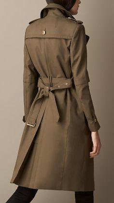 Dries Van NOTEN Green Cotton Trench Coat | eBay | coat | Pinterest ...