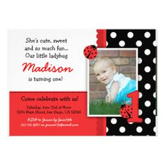 >>>Low Price          Red ladybug 1st Birthday Invitations           Red ladybug 1st Birthday Invitations we are given they also recommend where is the best to buyHow to          Red ladybug 1st Birthday Invitations lowest price Fast Shipping and save your money Now!!...Cleck Hot Deals >>> http://www.zazzle.com/red_ladybug_1st_birthday_invitations-161966118224909452?rf=238627982471231924&zbar=1&tc=terrest