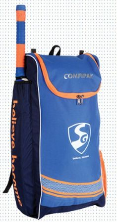 3bd93422df9 Sg Comfipak Cricket Kit Bag Without Wheels Normal Size Free Ship  Us Cricket  Store