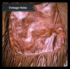 Vintage Hobo Beautiful leather vintage hobo bag.  Vert soft leather.  Made in Italy. Very clean inside and out. No rips, tears or stains. Smoke and pet free home. Other