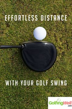 Effortless Distance With Your Golf Swing. Making the Perfect Strike - Golf Swing Tip and Instructions. Best Golf Instruction & Golf Swing Tips Golf 6, Play Golf, Kids Golf, Golf Ball Crafts, Golf Videos, Golf Drivers, Golf Instruction, Driving Tips, Golf Exercises