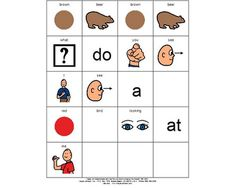 Great Language Activities to go with Brown Bear Brown Bear What Do You See?