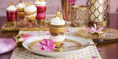 Our 1990 T-Day menu featured a whopping nine desserts, including a luscious pumpkin cheesecake. We've reimagined the cake as individual trifles for a modern dessert bar.