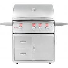 Features: Includes the 3 Pro burner grill and cart Fuel Type: Natural Gas. 3 commercial quality 304 cast stainless steel H burners. BTUs of cooking power per burner, for a total of BTUs. BTU infrared rear rotisserie burner for a total grill 3 Burner Gas Grill, Propane Gas Grill, Gas Grill Reviews, Bbq Guys, Best Gas Grills, Grill Cart, Bbq Accessories, Stainless Steel Grill, Drip Tray