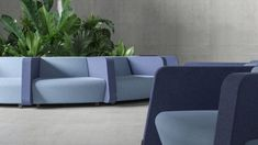 Danish designers Christina Strand and Niels Hvass have created a modular sofa system for workplace furniture brand Narbutas that fosters connectivity in modern offices. Extra Storage Space, Storage Spaces, Traditional Office, Architecture Office, Modular Design, Modular Sofa, Bespoke Furniture, Create Space, Soft Furnishings