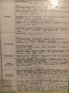Organic Chemistry 2 Gcse Revision, Organic Chemistry, Sheet Music, Alcohol, Rubbing Alcohol, Music Sheets, Liquor