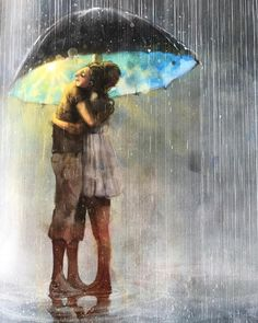 """31 likerklikk, 3 kommentarer – Joanna (@jojobjerga) på Instagram: """"@lisaaisato gjør det igjen. Sommerens fineste illustrasjon. ❤️ Og sommerrådene i artikkelen i…"""" Umbrella, Dreamy, Beautiful Images, Illustration, Image, Painting Inspiration, Painting, Art, Rainy Day"""