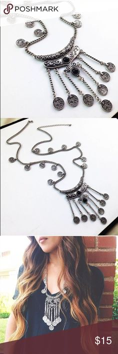 Restocked! Boho Coin Necklace! NEW! Coins from chain and bottom piece. Great piece! NWOT removed from package to inspect. Price is firm! Boutique Jewelry Necklaces