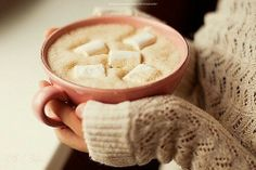 Hot cocoa ★ on a cold winter day