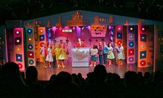 HAIRSPRAY. Sierra Repertory Theatre. Set design by R.A. Enlow. 2011