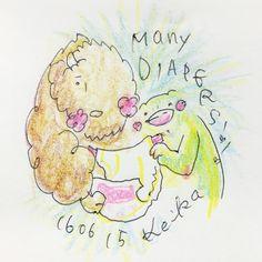 【Around midnight】オムツたくさん!the baby uses many diapers!! #baby #bison #frog #animal #drawing #illustration #diapers #かえる #バイソン #動物 #赤ちゃん #おえかき #イラスト #オムツ