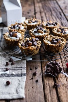 Oatmeal Chocolate Chip Breakfast Cups | Half Baked Harvest