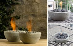 Cómo hacer una fogata en miniatura para adornar tu mesa | Notas | La Bioguía