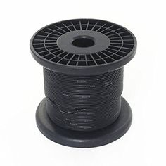 Jonard r26blk 0100 kynar insulated silver plated copper wire 26 awg bntechgo 24 gauge silicone wire 250 feet black soft and flexible high temperature resistant highly efficient greentooth Gallery