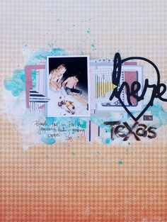 Here in Texas, by Denise Morrison using the Pen Pal collection from…