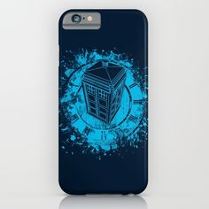 Tardis lost in space and time iPhone & iPod Case